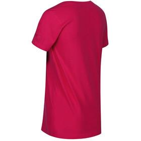 Regatta Filandra IV Camiseta Mujer, virtual pink